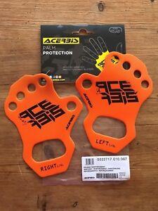 ACERBIS PALM PROTECTORS HAND PROTECTION ANTI BLISTER  ORANGE S M L XL