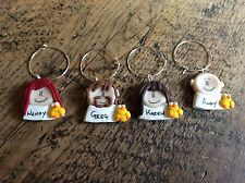 Wine Charms Personalised Easter Dinner Handmade 99p Each Made To Order Name Tags
