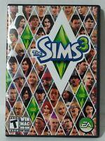 The Sims 3 (Windows/Mac: Mac and Windows, 2009) PC Computer Game Simulation