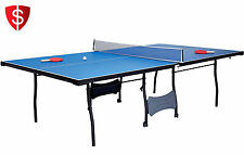 4 Piece Foldable Tenis Table Ping Pong Indoor Outdoor Sport Kids Game MD Sports