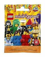 Lego Minifigures 71021 Series 18 Party (Retired) - Choose your figure