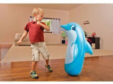 INTEX 3-D BOP BAG INFLATABLE PUNCHING BOXING BAG TOY DOLPHIN TOYS KIDS