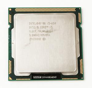 Intel i5-650 1st Gen SLBLK 2-Core 3.2GHz LGA1156 CPU *TESTED*