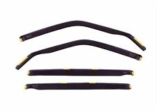 DNI24274 NISSAN QASHQAI +2  5 door 2008-2012 wind deflectors 4pc set TINTED HEKO