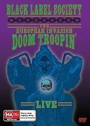 Black Label Society: The European Invasion - Doom Troopin' Live DVD - RARE