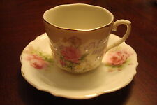 "HERMANN OHME coffee cup & saucer- Mother Means Love""[4-17]"