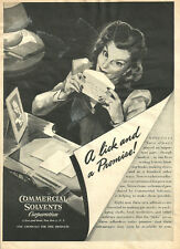 1944 ad Commercial Solvents Corp. Developing  adhesives for Post War . - 071713