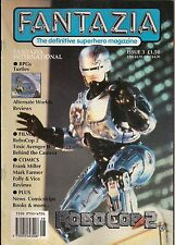 Fantazia #3 1990 FRANK MILLER ROBOCOP 2, RETURN TO FORBIDDEN PLANET