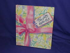 """Presents"" A Gift-Occasion-Christmas Card Record Book"