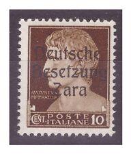 ZARA  1943  - 10 CENTESIMI -  PRIMO TIPO   NUOVO **