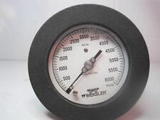 8139 Weksler 0-6000 Psig Stainless Steel Gauge Gage Free Shipping Conti Usa
