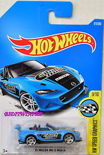 HOT WHEELS 2017 HW SPEED GRAPHICS '15 MAZDA MX-5 MIATA #9/10 BLUE