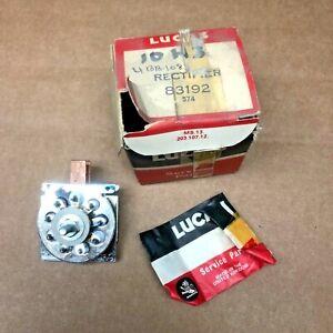 83192, Lucas Rectifier, Triumph TR6, TR250, Lotus Elan, Sunbeam Alpine Arrow