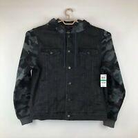 American Rag Men's Camo Trucker Jacket
