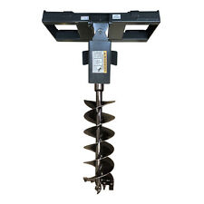 """Skid Steer Auger and Quick Attach Frame, 12"""" Bit Included - SALE!!"""