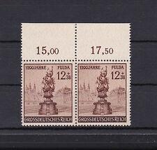 Deutsches Reich 886 IV postfrisch / tiefst geprüft : Schlegel BPP /Oberrandstück