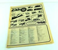 "Tyco Train Advertisement The Spirit of 76 Accessories Vtg Print Ad 13.5""x10"" AK"