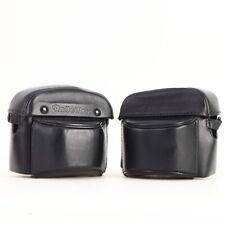 * Rolleiflex SL26 Leather Camera Case - Lot of 2