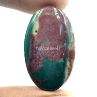 Cts. 21.40 Natural Designer Bloodstone Cabochon Oval Cab  Loose Gemstone