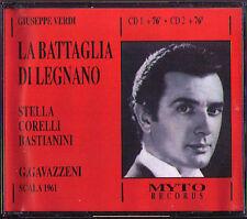 Verdi LA BATTAGLIA DI LEGNANO Franco Corelli Gavazzeni 2cd Stefanoni Bastianini