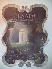 PUBLICITE DE PRESSE BIENAIME PARFIMEUR DRAEGER FRENCH AD 1941