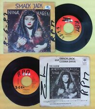 LP 45 7'' NINA HAGEN Smack jack Cosma shiva 1982 holland CBS no cd mc dvd vhs