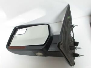 09-14 FORD F-150 BLIND SPOT CHROME DRIVER SIDE MIRROR LEFT HAND LH