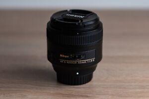 Nikon Nikkor 85mm F/1.8 Lens