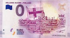 BILLET 0 ZERO EURO SCHEIN SOUVENIR HELSINKI SUOMI  FINLAND 2018-1