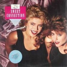 """Sweet Connection Need your passion (1988, multi-coloured) [Maxi 12""""]"""