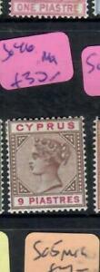 CYPRUS  (P0907B)  QV    9P     SG 46        MOG