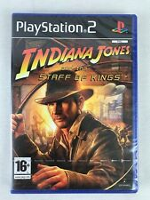 PS2 Indiana Jones and the Staff of Kings (2009), UK Pal, New & Factory Sealed