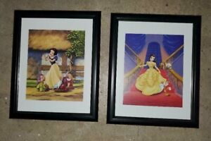 Disney Princess Wall Pictures - Belle and Snow White