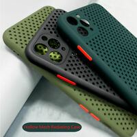 Breathable Silicone Case For iPhone 11 Pro Max XR XS 8 7 6s Plus Soft TPU Cover