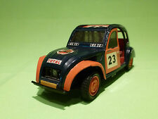POLISTIL S100 CITROEN 2CV CROSS - HAND BUILT - CROSSTEAM HOLLAND -VERY GOOD COND