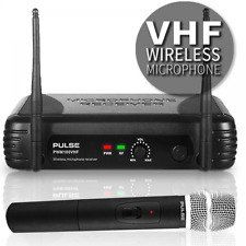 More details for pulse vhf wireless radio handheld microphone system uk licence free 174.5mhz