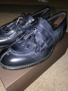 Doucal's Blue Leather Loafers size 11