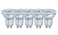 5 x Osram LED Star PAR16 50 36° GU10 Strahler Glas warmweiß 2700K wie 50W