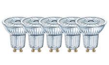 5 x OSRAM LED star par16 50 36 ° gu10 projecteur verre blanc chaud 2700k comme 50w
