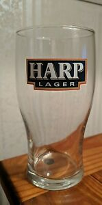 Harp Lager~~Tulip Shaped Beer Glass