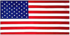 "American Flag Beach Towel 30""x60"" USA Flag 100% Cotton Satisfaction Guaranteed"
