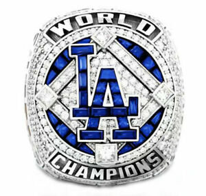 HOT 2020 Los Angeles Dodgers World Series Championship Ring MLB OFFICIAL VERSION
