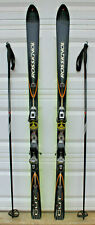 Rossignal Cut 10.4 Downhill Carbon Snow Skis 177cm Salomon 800 Bindings & Poles