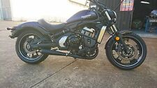 Kawasaki Vulcan S EN 650 A Ceramic Black Sports Exhaust System