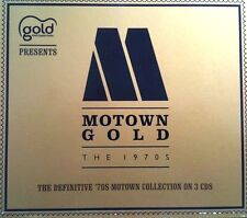 MOTOWN GOLD - SOUGHT AFTER 3 X CD BOXSET - 60S 70S SOUL DISCO FUNK CDJ CD DJ