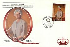 (88224) Ghana FDC Queen Mother 95th Birthday - Accra 9 July 1995