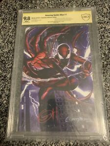Amazing Spider-Man 1 Ultimate Edition Horn CBCS 9.8 Only 200 Copies Exist (cgc)
