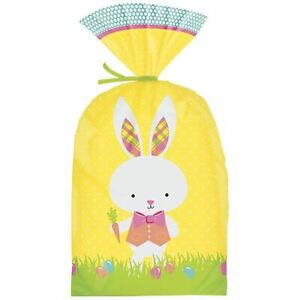 Easter Bunny Party Treat Bag from Wilton 9726 NEW