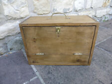 Boxes/chests Antiques Early 20th Century Swedish Pine Painted Tool Box Firm In Structure