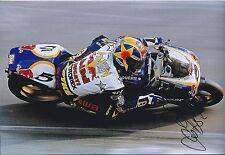 James HAYDON Signed 12x8 DUCATI Motorbike Superbike Photo Autograph AFTAL COA